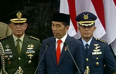 Jokowi: Layarku Sudah Terkembang Kemudiku Sudah Terpasang, Kita Bersama Menuju Indonesia Maju
