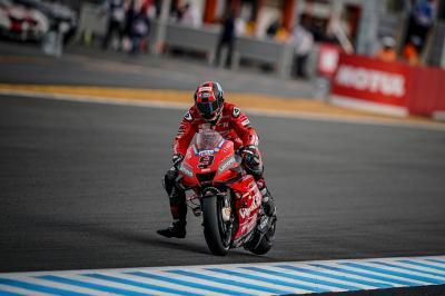 Petrucci Kecewa Hanya Finis Kesembilan di MotoGP Jepang 2019