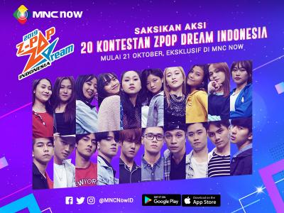 Z-Pop Dream Indonesia 2019 Tayang Eksklusif di MNC Now