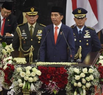 PKS Sayangkan Jokowi Tak Bahas Korupsi hingga HAM dalam Pidatonya