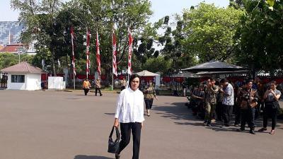 Sri Mulyani Sambut Panggilan Jookowi ke Istana dengan Senyum