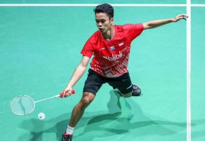 Anthony Waspadai Tunggal Putra China di 16 Besar China Open 2019