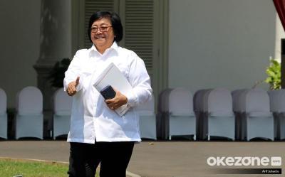 Kembali Jadi Menteri, Siti Nurbaya Laporkan Peran Penting LHK di Ibu Kota Baru