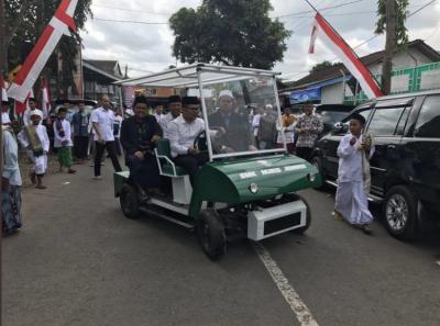 Mobil Listrik Santri Pernah Disebut Wapres Maruf Amin Bisa Jadi Mobnas