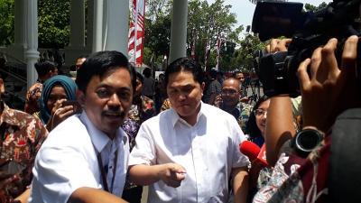 Kinerja Tak Bagus, Erick Thohir Siap Dicopot dari Menteri BUMN