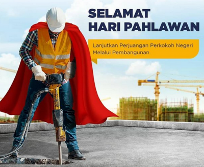 SDM Konstruksi Disebut Pahlawan Pembangunan Infrastruktur RI
