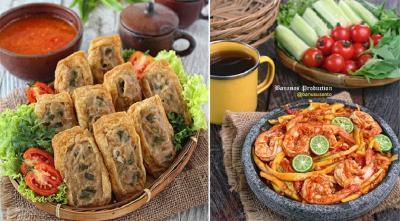 Resep Makan Siang Sambal Mangga Udang dan Tahu Bakso Tuna, Super Praktis!