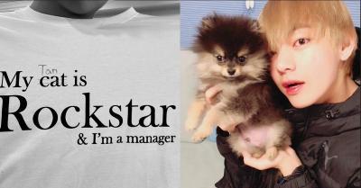Dipakai V BTS, Kaus seperti Ini Langsung Ludes Terjual