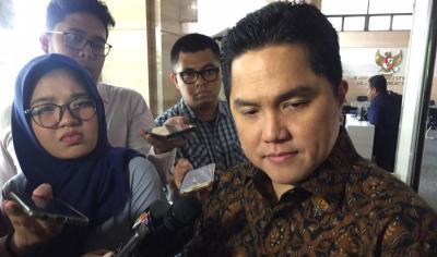 Erick Thohir Serahkan Nama-Nama Calon Bos 3 BUMN ke Presiden Jokowi