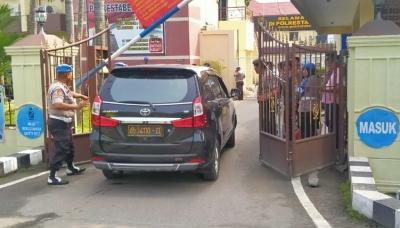 Jalan HM Said Depan Mapolrestabes Medan Ditutup Pasca-Bom Bunuh Diri