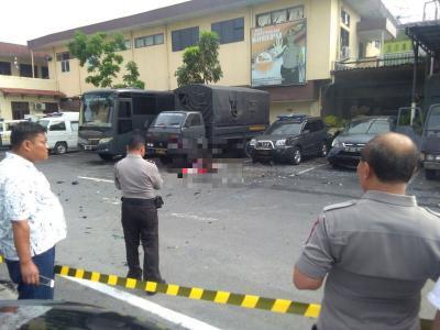 Potongan Tubuh Pelaku Ledakan di Medan Atas Nama Rabbial Muslim Nasution