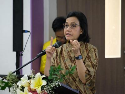 Telusuri Desa Siluman, Sri Mulyani Tunggu Audit BPK