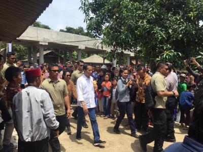 Presiden Jokowi Blakblakan, Gampang Tertidur Termasuk di Helikopter