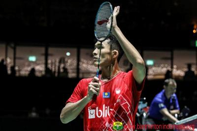 Tekuk Wakil India, Jonatan Lolos ke Perempatfinal Hong Kong Open 2019