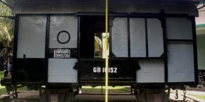 Nuansa Mistis Gerbong Maut Bondowoso di Museum Brawijaya