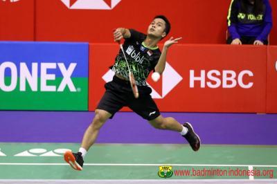 Anthony Menangi Laga Dramatis Kontra Jonatan di Semifinal Hong Kong Open 2019