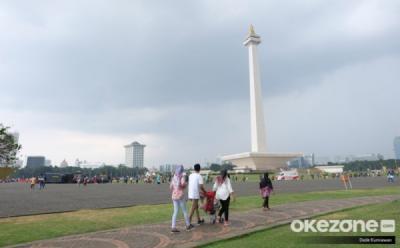 Akhir Pekan Ibu Kota Diprediksi Cerah Berawan Sepanjang Hari