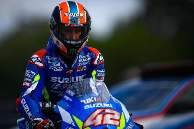 Suzuki Hargai Perjuangan Rins di MotoGP Valencia 2019