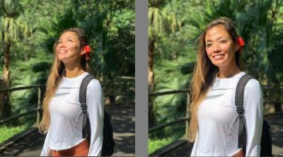 Intip Gaya Seksi Shanty Paredes saat Jalan-Jalan di Hong Kong