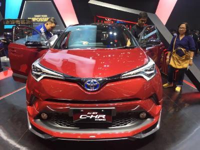 Toyota Pede Capai Target 1.000 Unit Jualan Mobil Hybrid hingga Akhir  Tahun