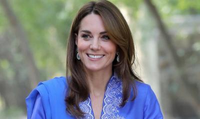 Hadiri Acara Amal, Kate Middleton Hampir Terpeleset
