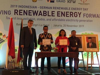 Gandeng Jerman, RI Kembangkan Listrik dari Energi Terbarukan di 1.000 Pulau