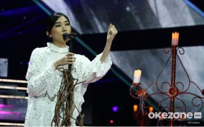 Bawakan Lagu Bento, Nikita Bikin Isyana Sarasvati Bergoyang di The Voice Indonesia