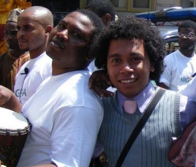 Kangen Rambut Afro, Ini 7 Fakta Billy Mambrasar sang Stafsus Milenial