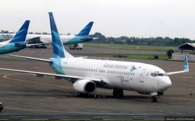 Cuaca Buruk, Pesawat Garuda Mendarat Darurat di Bandara Halim Perdanakusuma