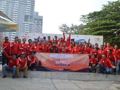 Gelar Touring Tahunan, Forwot Gandeng Komunitas Sebarkan Pesan Keselamatan
