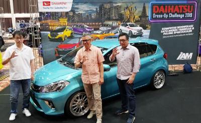 Final Adu Keren Ratusan Mobil Daihatsu, Unjuk Kreativitas Kekinian Terbesar Tanah Air