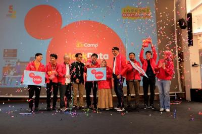 Indosat Ooredoo Umumkan Pemenang Kompetisi Hackdata