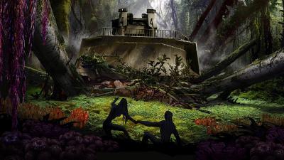 'Selesai' Syuting, James Cameron Pamer Kapal Raksasa di Set <i>Avatar 2</i>