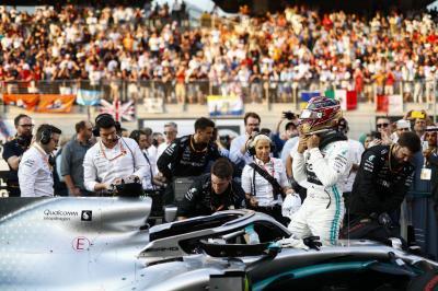 Hamilton Senang Bisa Tutup F1 2019 dengan Sempurna karena Menang di Abu Dhabi