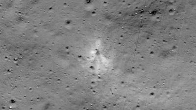 NASA Temukan Bangkai Pesawat Vikram di Permukaan Bulan