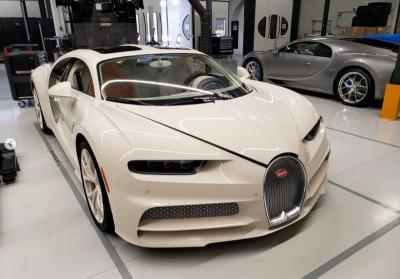 Lewat Sentuhan Hermes, Bugatti Chiron Milik Raja Real Estate Tampil Makin Mewah