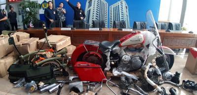 Harley Davidson dan Sepeda Brompton Selundupan Bakal Dilelang?