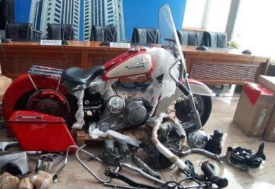 Polisi Sebut Moge yang Diselundupkan Dirut Garuda Merupakan Motor Bodong
