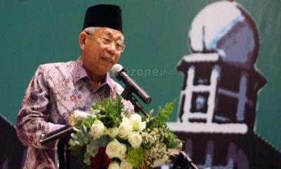 KH Ma'ruf Amin Menyayangkan Indonesia Masih Impor Produk Halal