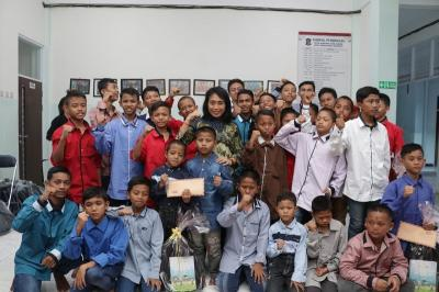 Menteri Bintang Puspayoga Apresiasi Upaya Pemkot Surabaya Penuhi Hak Anak