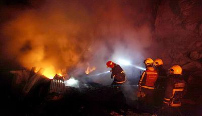 Rumah Tinggal di Kembangan Terbakar, 15 Unit Damkar Dikerahkan