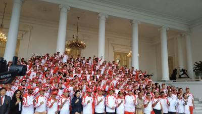 Raih 66 Medali Emas, Indonesia Sukses Lewati Target yang Diinginkan Jokowi di SEA Games 2019