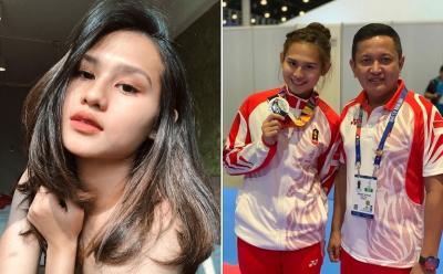 Pesona Ceyco Georgia, Karateka Cantik Indonesia Peraih Medali Perak di SEA Games 2019
