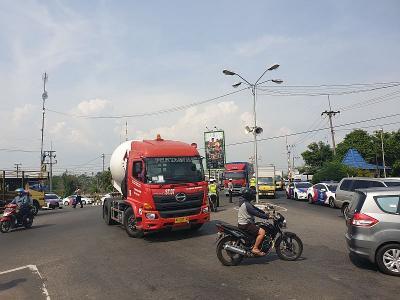 Polisi Siapkan Rekayasa Lalin di Simpang Mengkreng Kediri