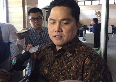 Erick Thohir Buka-bukaan Nasib Susi Pudjiastuti-Jonan dalam Bursa Bos BUMN