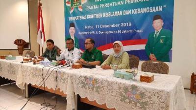 PPP Akan Gelar Mukernas, Undang Kader yang Diakui Negara