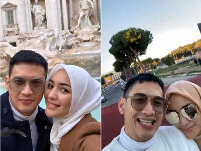Romantisnya Citra Kirana dan Rezky Aditya Bulan Madu di Italia, Mesra Tak Terpisahkan