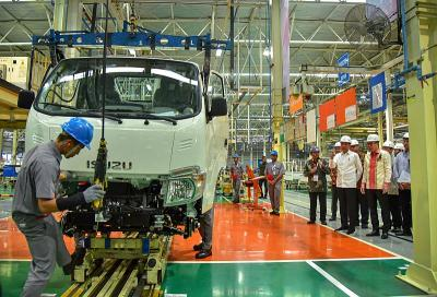 Jokowi Targetkan Ekspor 1 Juta Kendaraan, Caranya?