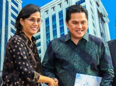 Erick Thohir Ngakak Ada Cucu Perusahaan BUMN Garuda Tauberes Indonesia