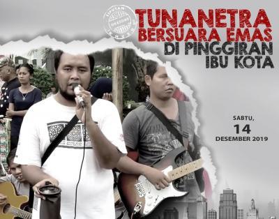 Pengamen Tunanetra di Bekasi Sering Beroperasi di Pinggir Jalan, Satpol PP Bertindak
